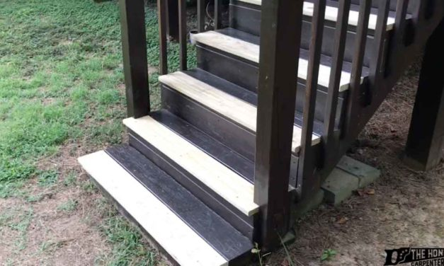 HOW TO REPLACE DECK STAIR TREADS