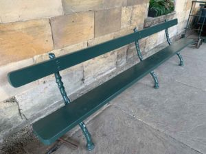 NYMR finished bench
