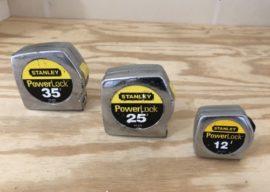 Best Tape Measure Ever – Stanley Powerlock