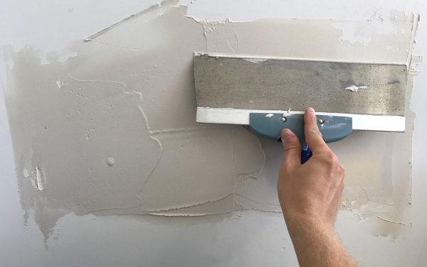 THE ONE-HOUR DRYWALL MUD PATCH