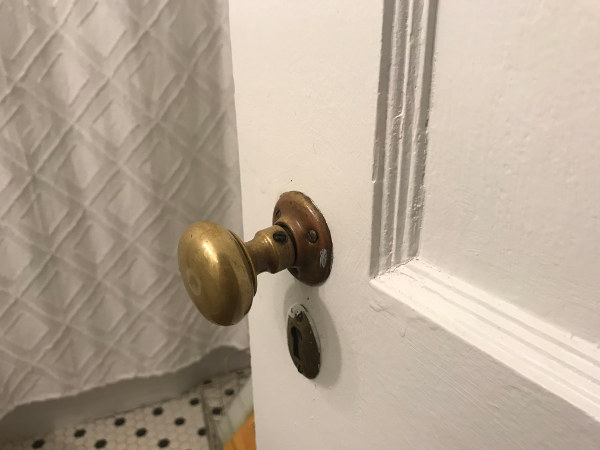 HOW TO TIGHTEN OLD DOOR KNOBS