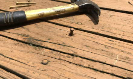 LOOSE DECK NAILS