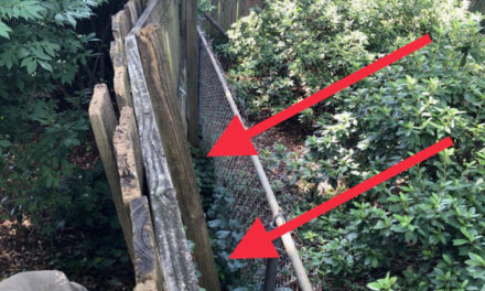 HOW TO REPAIR LEANING FENCES