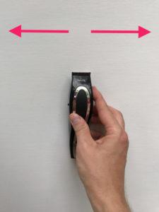 electric razor wall stud test